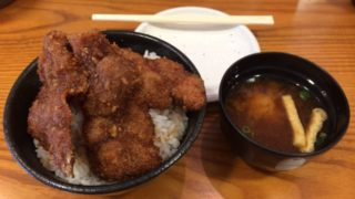 卵でとじていないカツ丼ってマジですか!?学生の街「江古田」で新潟タレカツ丼を食べてきたゾ☆