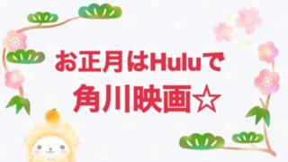 紅白歌合戦で見た薬師丸ひろ子さんが超素敵だった〜!というワケで、お正月はHuluで角川映画を見まくるゾ☆