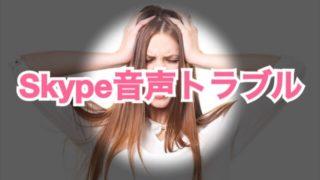 人生初のオンライン英会話でSkype音声トラブル!原因と解決方法をシェアします