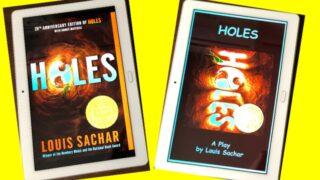 【追記あり】人気の洋書「Holes」を読んでみた!amazonで買う場合、「オリジナル」と「脚本版」があるので要注意!!